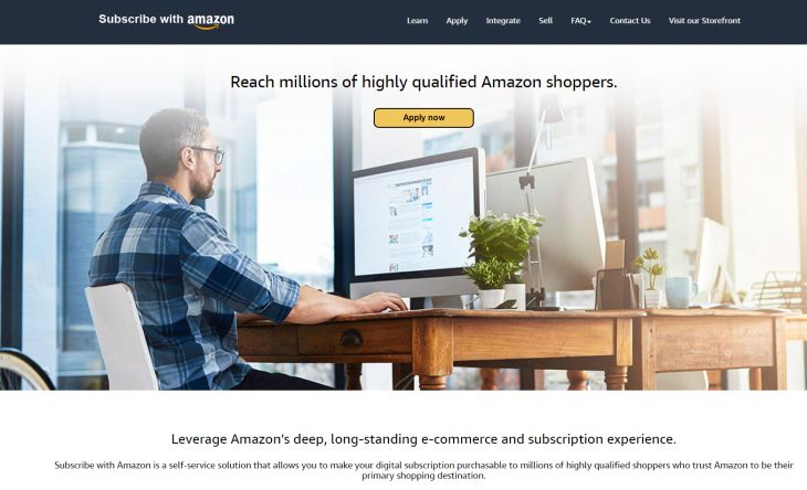 SubscribeWithAmazon