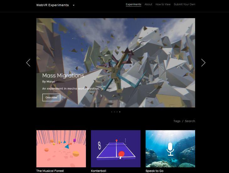 WebVR-Experiments