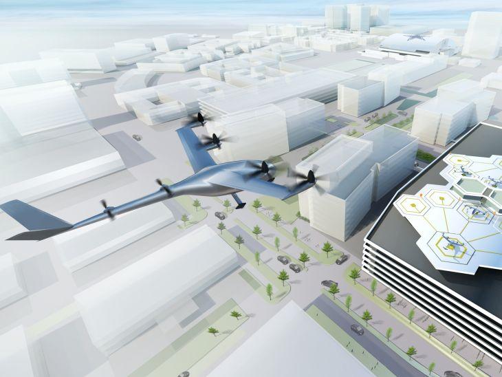 Uber planea ofrecer desplazamientos por aire en el año 2020
