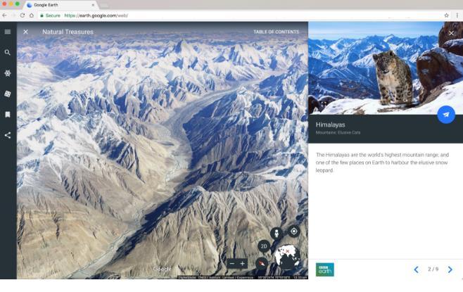 Presentan nueva versión de Google Earth