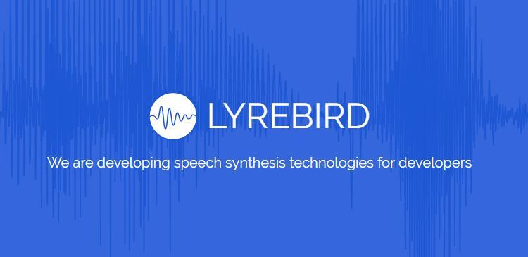 lyrebird, un sistema que permitirá imitar la voz de cualquier persona