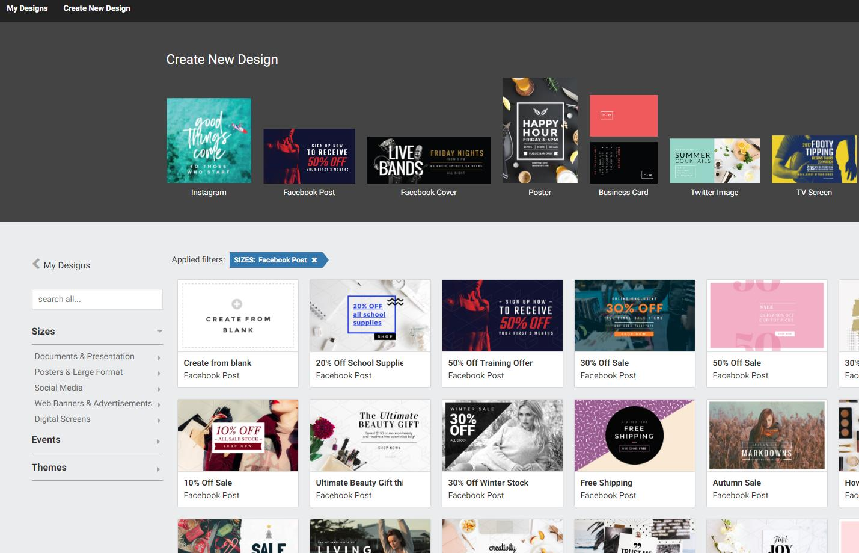 Easil y Canva, las dos grandes plataformas de creación de banners