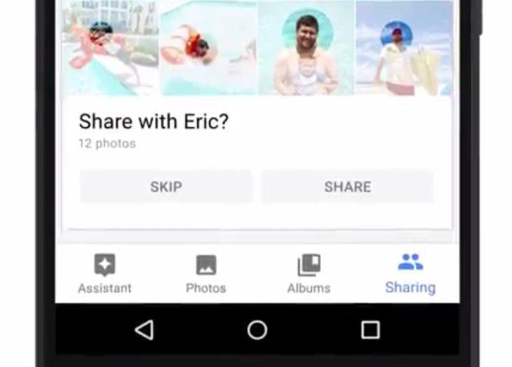Google Photos evitará que olvides compartir tus fotos