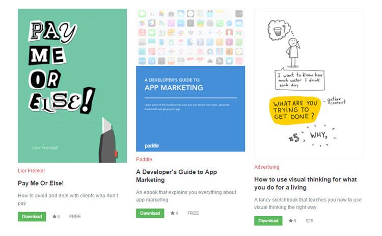 Más de 50 ebooks gratuitos sobre negocios y emprendimientos para descargar