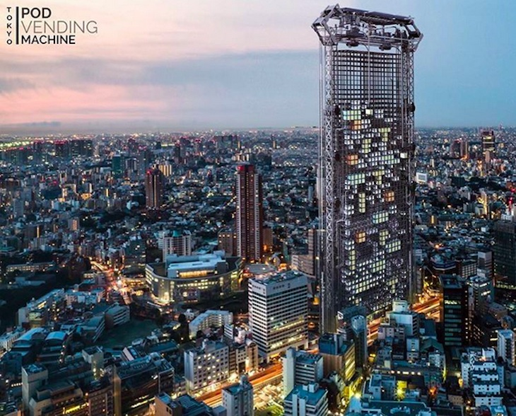 Un arquitecto diseña un rascacielos capaz de imprimir apartamentos en 3D