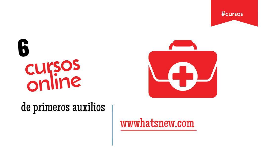 6 cursos online gratuitos sobre primeros auxilios, RCP y enfermería