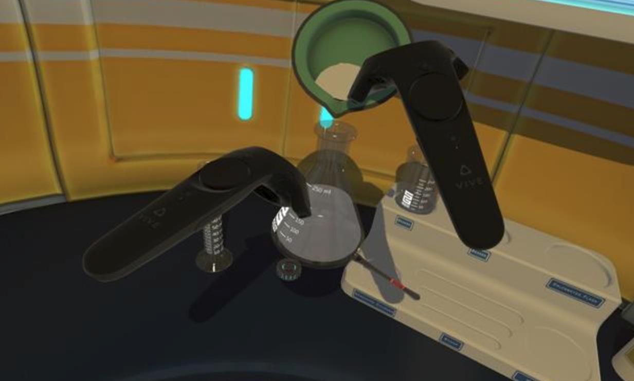 Aprendiendo química con Realidad Virtual
