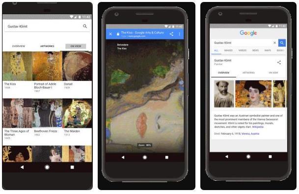 La búsqueda de arte en Google ahora será espectacular
