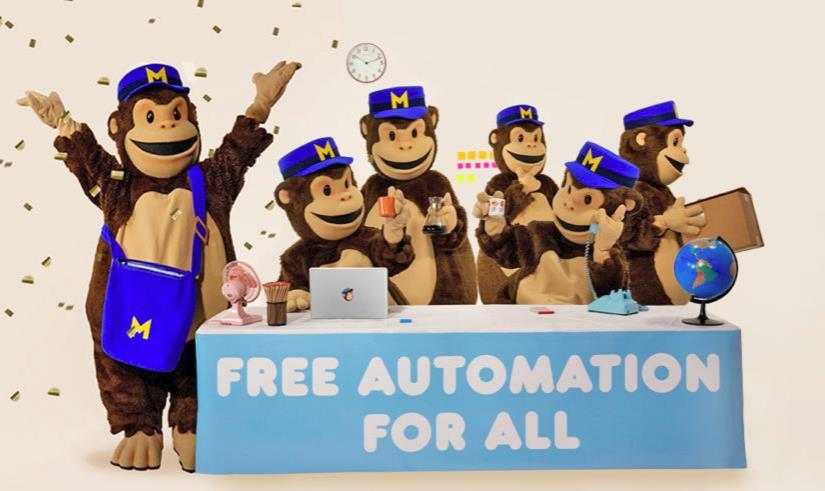 Mailchimp ofrece de forma gratuita sus herramientas de marketing