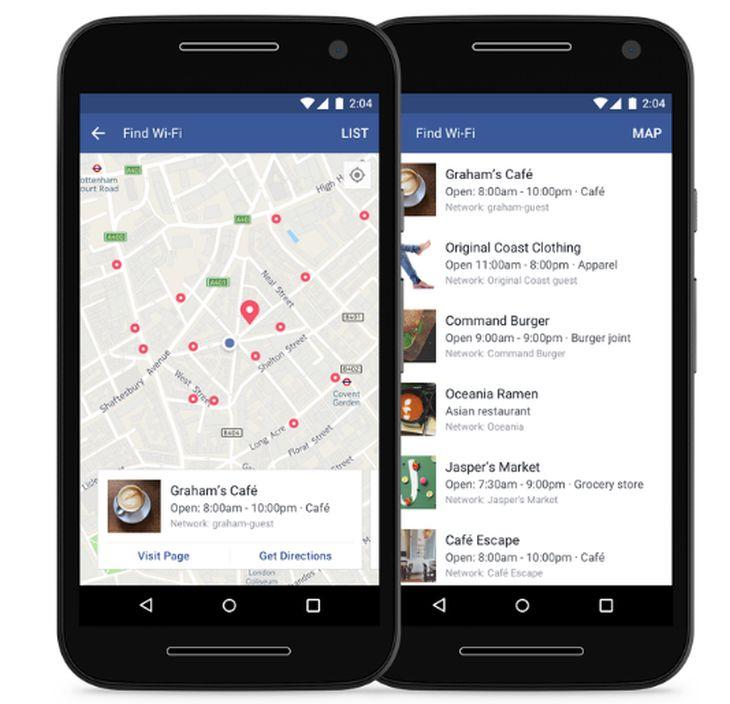 Facebook habilita una herramienta que permite buscar redes Wifi