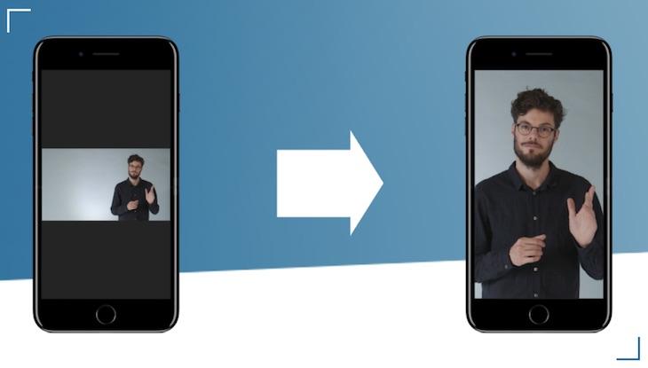 Una herramienta para adaptar vídeos a pantallas verticales, horizontales o cuadradas