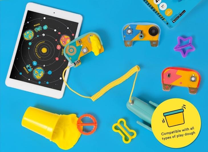 Dough Universe, para que los niños aprendan electrónica de una forma entretenida