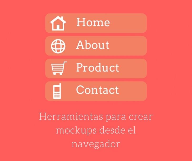 2 sitios web para crear mockups de páginas web o aplicaciones móviles