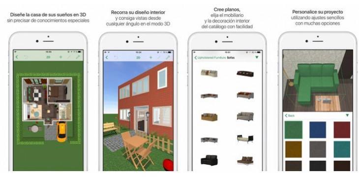 3 apps gratuitas para decorar tu casa desde el dispositivo móvil