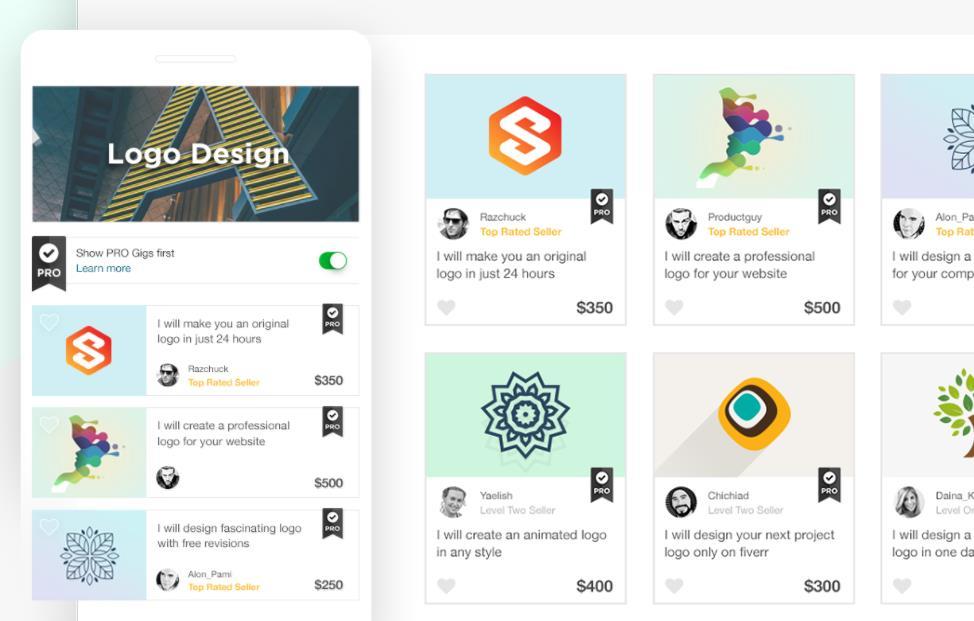 """Fiverr presenta los """"perfiles Pro"""", para destacar a los freelancers con más experiencia"""