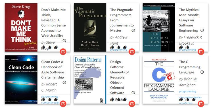 Un recurso gratuito con millones de libros para recomendar