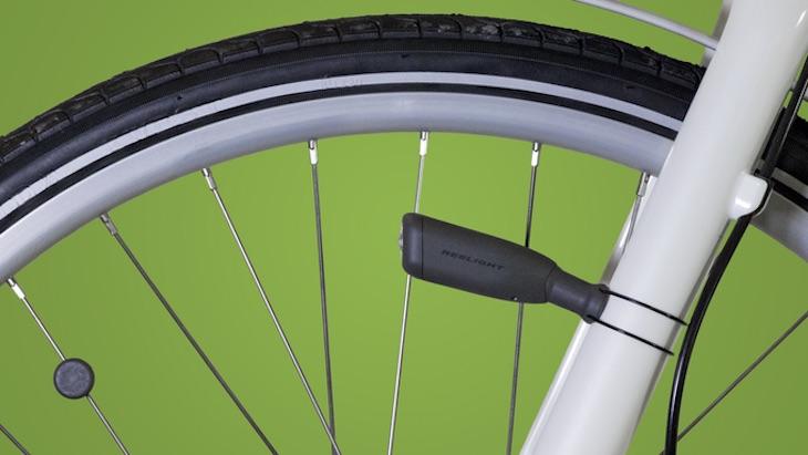 CIO, una luz para bicicletas que funciona sin ningún tipo de batería