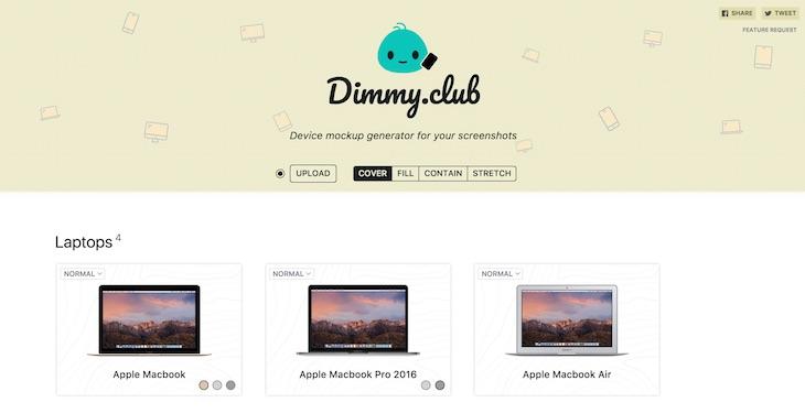 Una web para generar mockups de dispositivos con tus propias imágenes