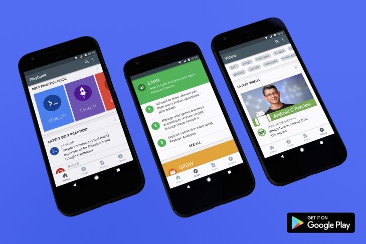 Playbook, app de guía para desarrolladores de Android, ahora en varios idiomas