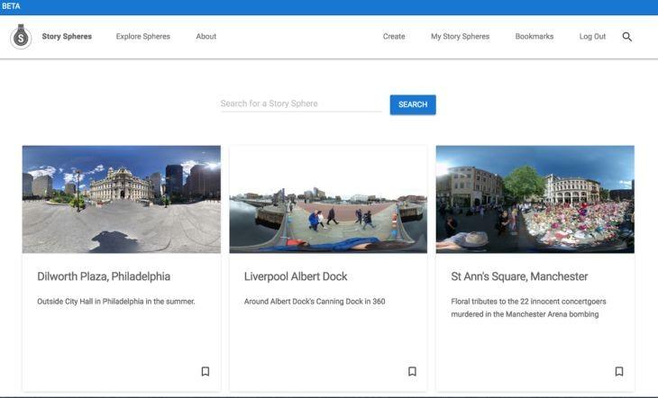 Story Spheres, la nueva herramienta de Google para crear historias inmersivas