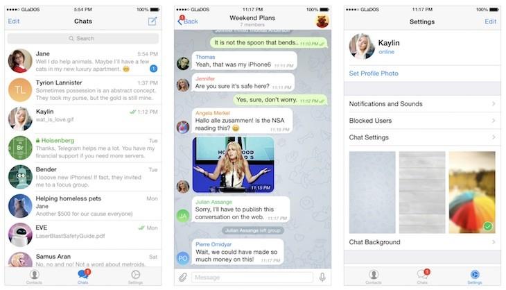 Telegram permitirá programar autodestrucción de fotos y videos