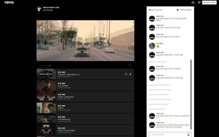 WatchPartyLive-Vevo