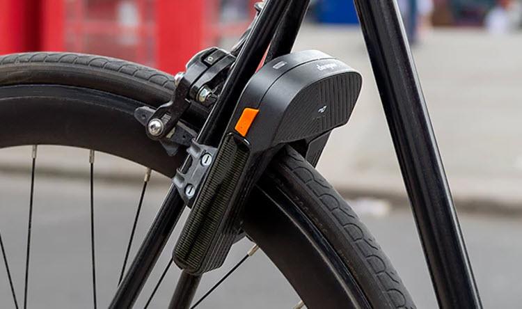 Este dispositivo con sensores y GPS protege a nuestra bicicleta de los ladrones