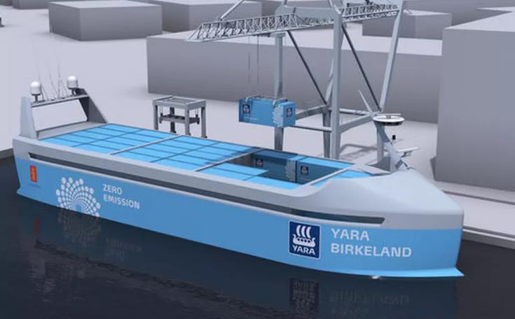 El primer barco autónomo, 100% eléctrico, navegará en 2018