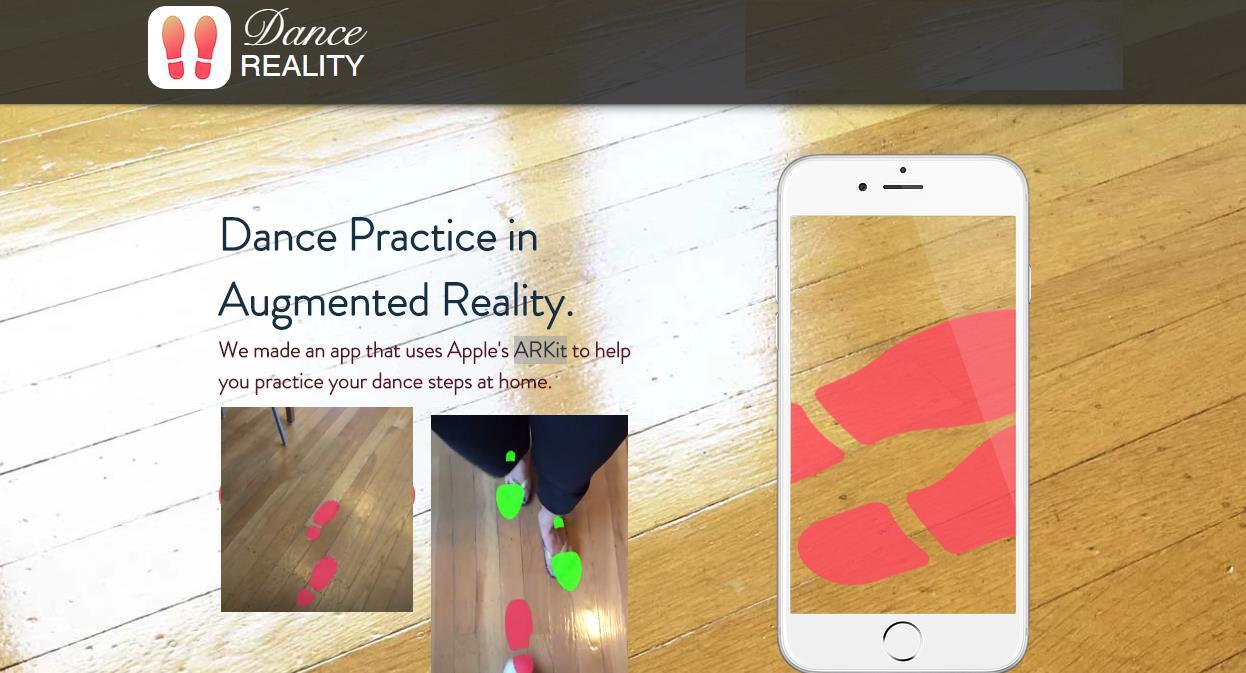 Aprendiendo a bailar usando la Realidad Aumentada