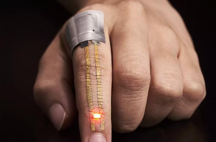 """Una """"segunda piel"""" de oro, capaz de capturar datos de nuestro cuerpo"""