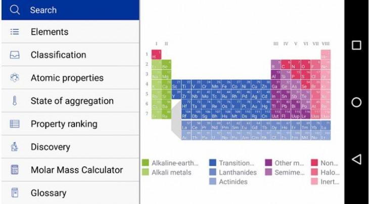3 aplicaciones para observar la tabla peridica desde el mvil merck pte tabla peridica urtaz Choice Image