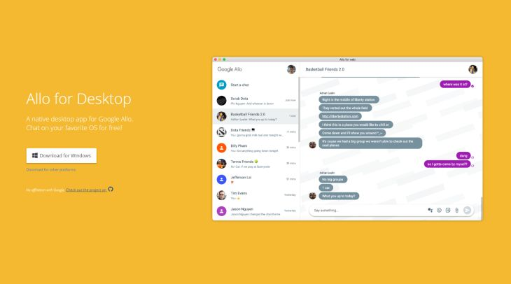 Allo-for-Desktop