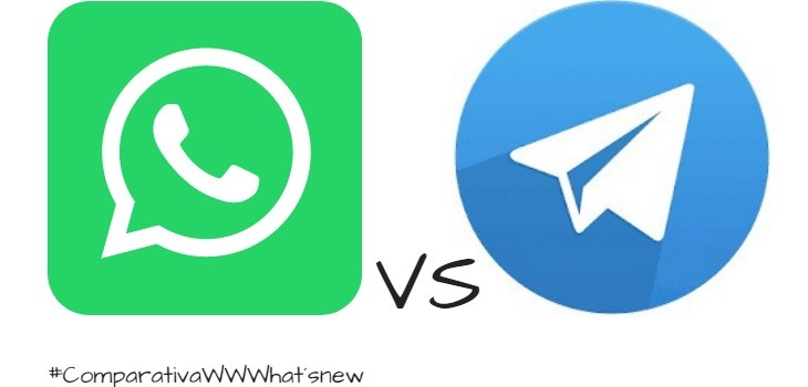 Diferencias y similitudes WhatsApp y Telegram
