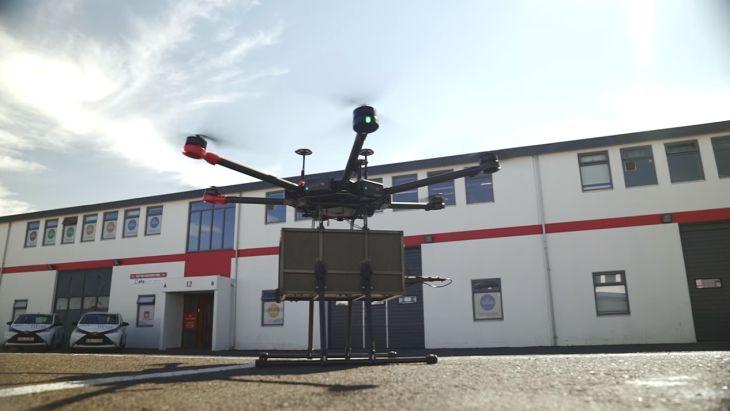 Imagen: Dron de Flytrex