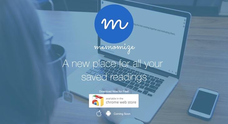 Memomize, para marcar texto en cualquier web y guardarlo para verlo más tarde