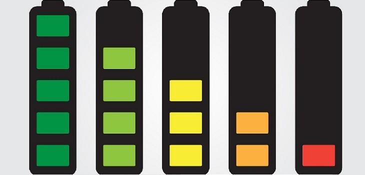 Rendimiento batería telefono