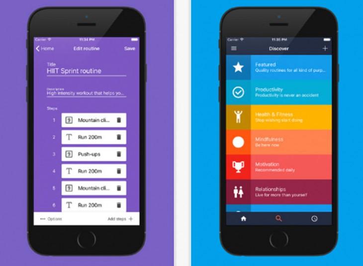 Una app para crear y descubrir rutinas creadas por profesionales