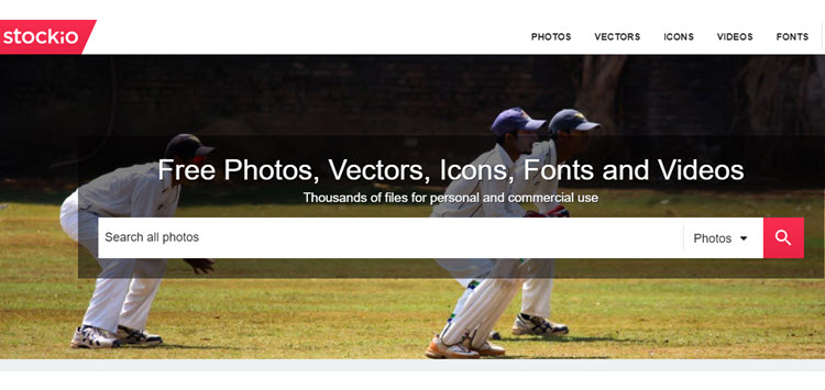 Stockio, miles de fotografías y recursos gratuitos para proyectos creativos