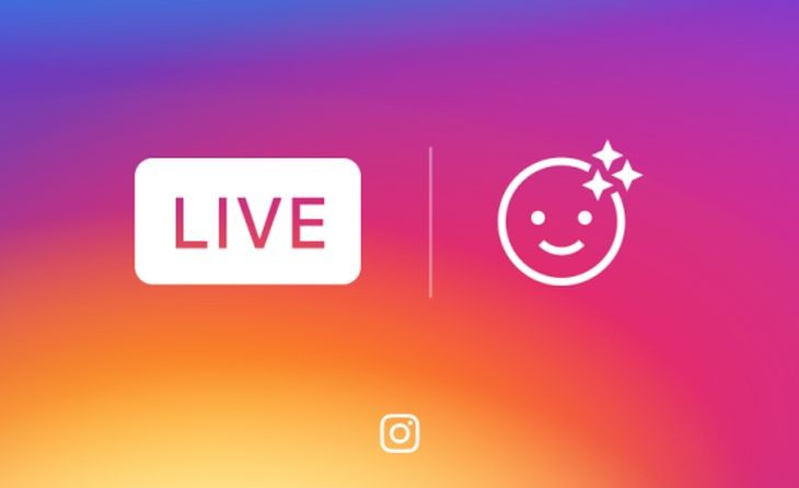 Instagram incluirá filtros faciales para videos en vivo