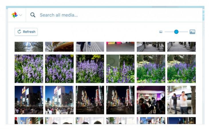 WordPress.com ya permite subir imágenes directamente desde Google Fotos