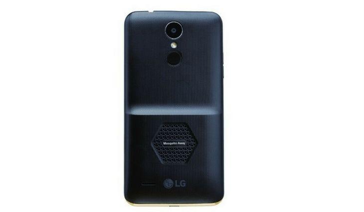 LG K7i: nuevo smartphone viene repelente de mosquitos integrado
