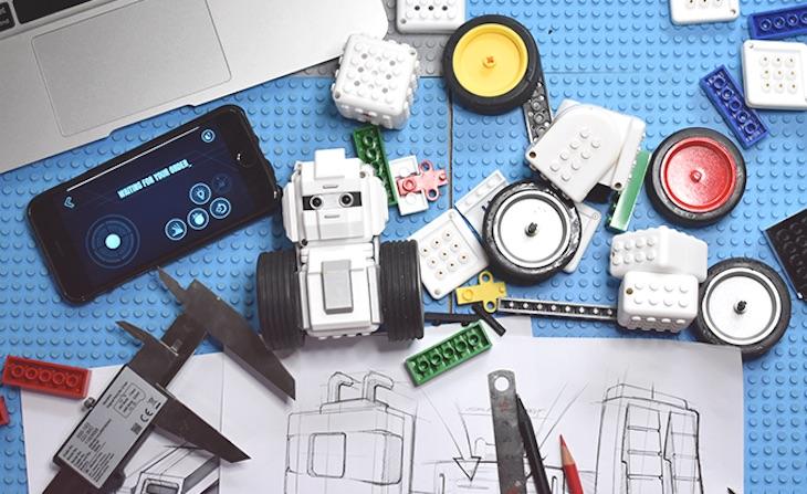 MAUNZI, un kit para niños con el que construir robots y divertirse aprendiendo