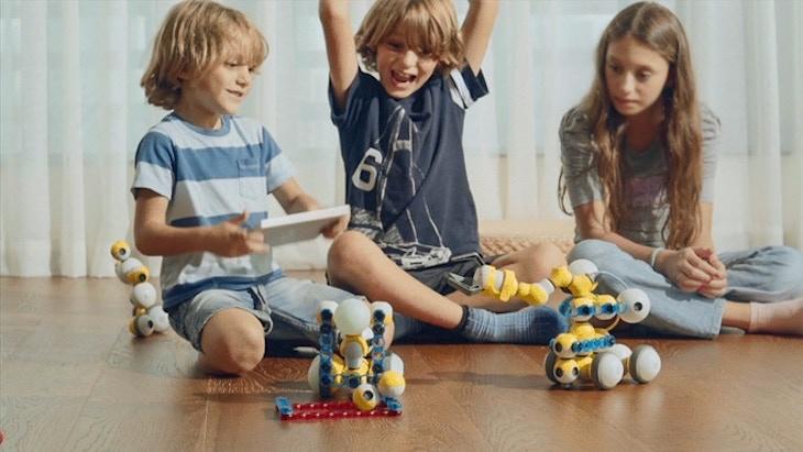 Mabot, un robot personalizado que los niños podrán programar