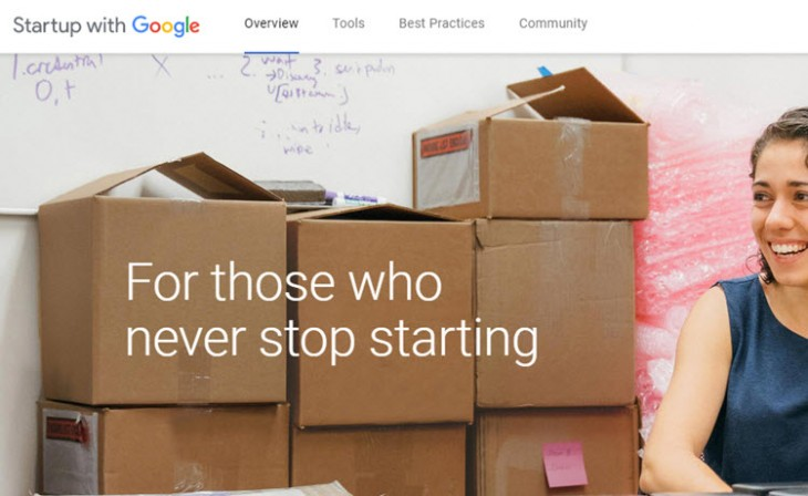 Startup with Google