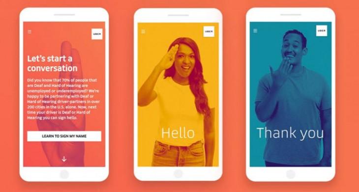 Uber Actualiza Su App Con Letras Y Palabras En Lengua De Señas