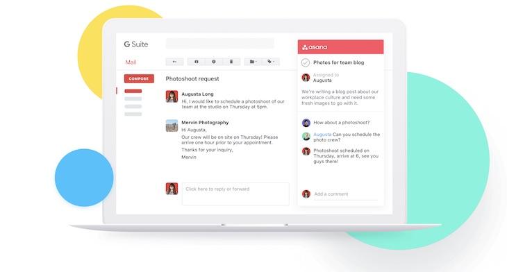Asana para Gmail nos permite convertir emails en tareas desde la bandeja de entrada