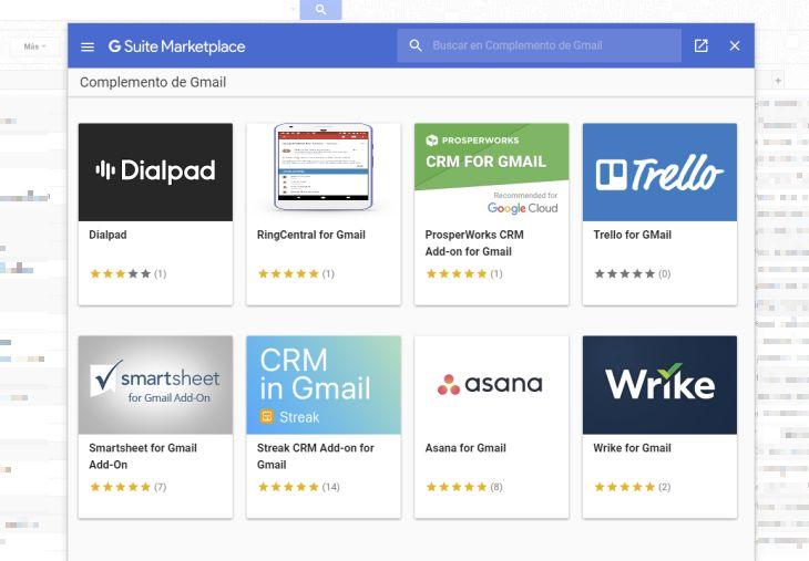 Google presenta las extensiones de terceros para Gmail