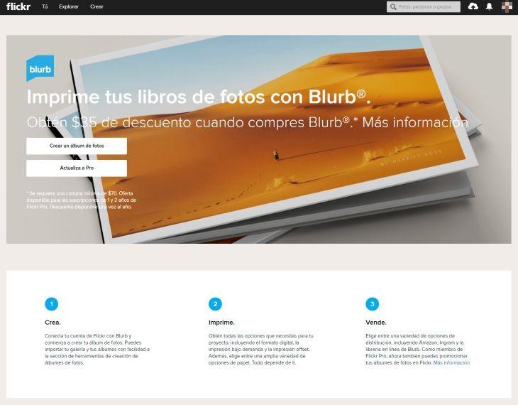 Flickr-Blurb