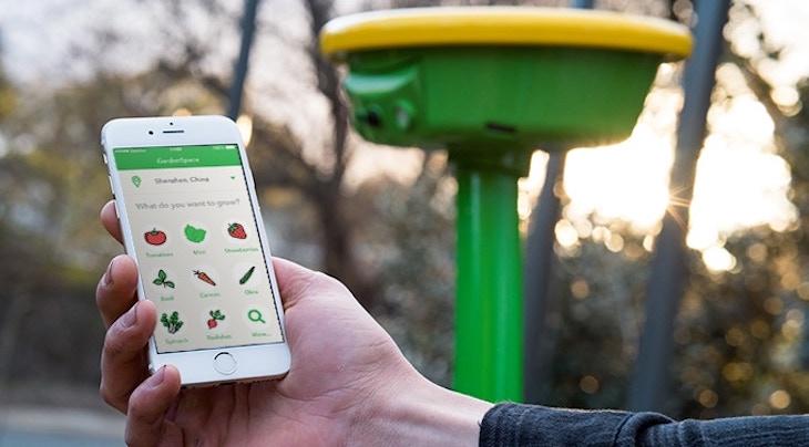 GardenSpace, un dispositivo inteligente para ver, regar y cuidar nuestro jardín