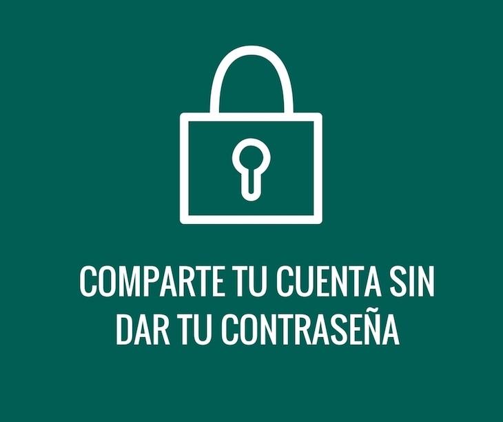 ShareAccount, para ofrecer acceso a nuestras cuentas de usuario sin dar la contraseña